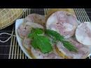 Как сделать куриный рулет в оболочке Ветчина куриная в оболочке