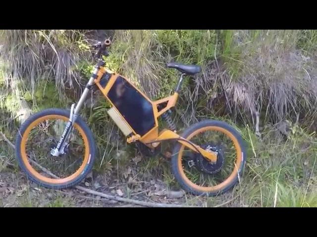 FALCON Rower elektryczny samoróbka
