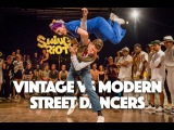 Montreal Swing Riot 2016 - Vintage vs Modern Street Dancers - Part 2 of the Invitational Battle