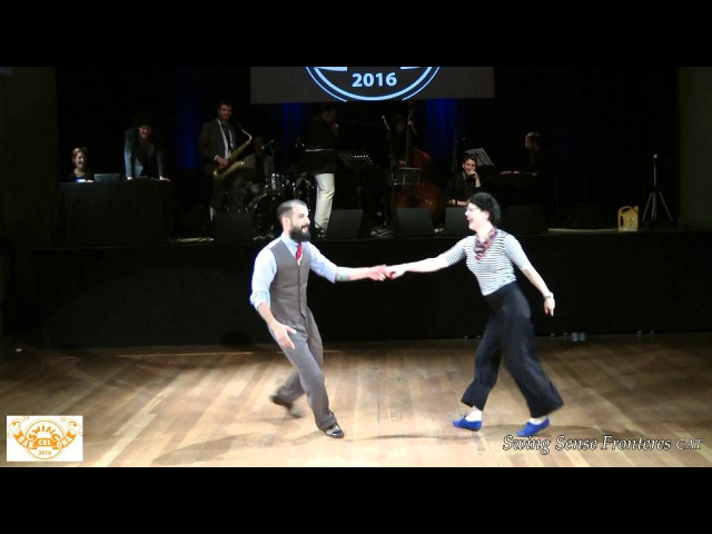 BarSWINGona'16 - Juan Villafane Sharon Davis - The Atomic Swing Five - V. SSF-CAT