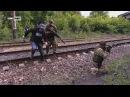 Военкоры канала Россия попали под обстрел ВСУ в районе ясиноватовского блокпоста