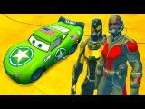 Disney Lightning McQueen Army, Ant-Man &amp Yellowjacket Playtime - Music Songs For Kids