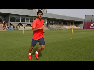 FC Barcelona 2016/2017: pre-season's first training session