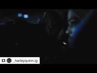 Harley and joker helicopter (kiss scene)