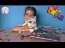 DEVAR kids ЖИВАЯ АЗБУКА 3D с наклейками ИГРАЕМ УЧИМ БУКВЫ с Алисой AlisebabyTV