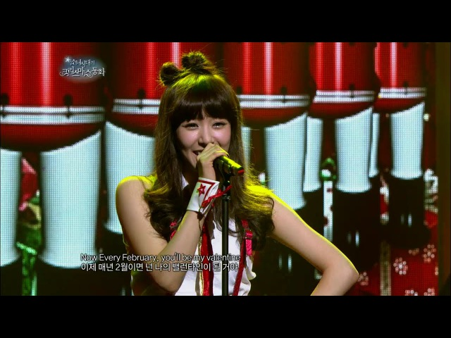 【TVPP】Tiffany(SNSD) - Christmas Dream, 티파니(소녀시대) - 크리스마스 드림 @ SNSD's Christmas Fairy Tale