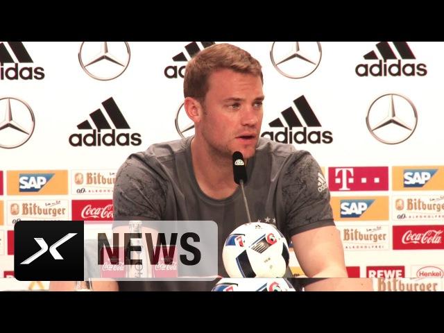 DFB Abwehr Manuel Neuer Sind flexibel Fußball EM 2016 in Frankreich