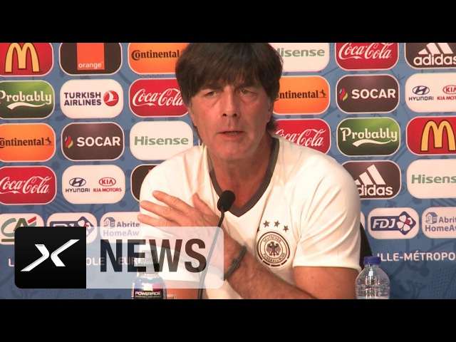 Abwehr Joachim Löw Anders vorgestellt Ukraine Deutschland EM 2016