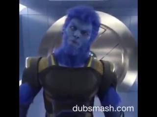 X-MEN APOCALYPSE Viral Clip - Cast Dancing to Beast Mode Dub Smash (2016) Marvel Movie