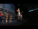 UFC206: Krylov vs Cirkunov Official Weigh-in