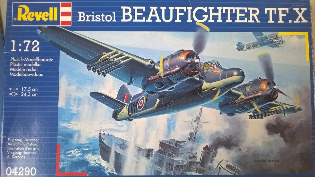 Bristol Beaufighter TF.Mk.X 1/72 (Revell) Ju2tnHDEQYw