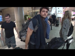 Dylan O'Brien Spotted First Time Since Maze Runner Accident at LAX