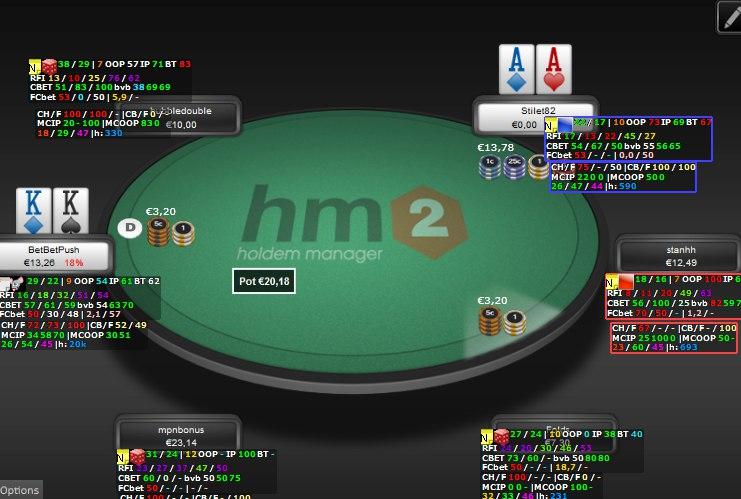 Kem poker rack