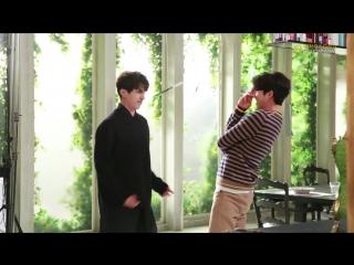 [BTS] Goblin shooting ep. 5 - Lee Dong Wook & Gong Yoo