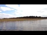 Прогулка  по озеру Валдай 27 2016 Мая
