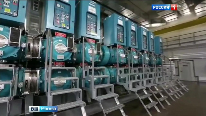 Сергей Собянин открыл новую подстанцию Берсеневская