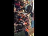 Прибытие Фк Реал Мадрид на Камп Ноу
