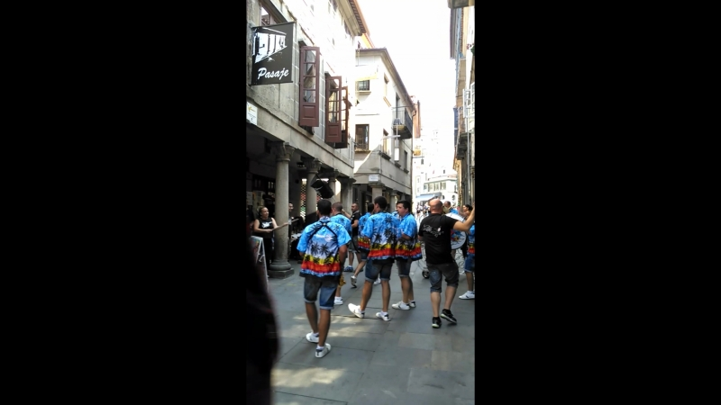 Pontevedra. (Den` mista i vodiani boji)