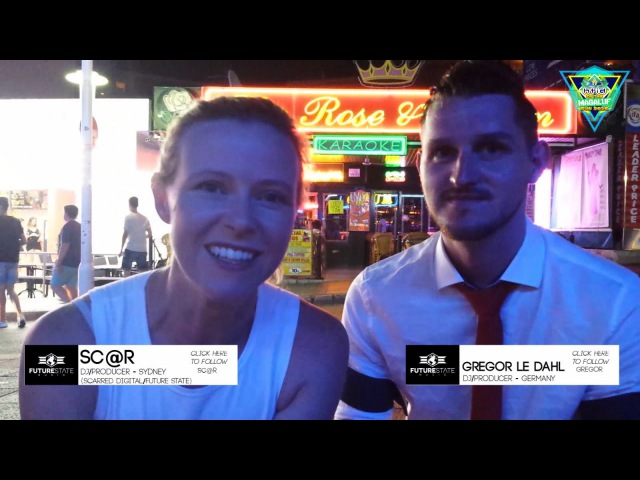 Sc@r Interviews Gregor le DahL at HTID In The Magaluf Sun 2016 (Future State Music TV)