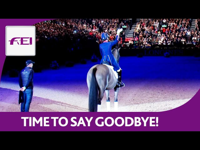 Valegros very last performance - FEI World Cup™ Dressage - London Olympia 2016
