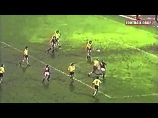 1/32 Кубок УЕФА 1987/1988 Спартак Москва-Динамо Дрезден 3-0 - Гол Черенкова