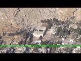 Syrian army overlooks Ain al-Fijah's main water facility in Wadi Barada region
