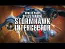How to paint the Space Marine Stormhawk Interceptor.