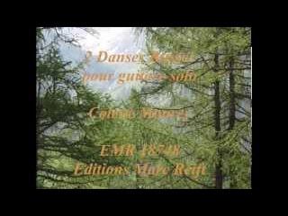 2 Danses Russes pour guitare solo, Colette Mourey, EMR 18748, Editions Marc Reift