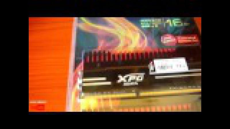 Unboxing DRAM DDR3 XPG V3 2400MHz 16GB (2 x 8GB)