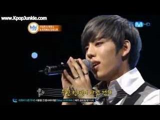(LIVE) Dongwoo singing Noel's Fate