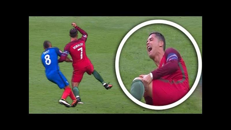 Lionel Messi Vs Cristiano Ronaldo ● Top 10 Brutal Fouls,Horror Tackles