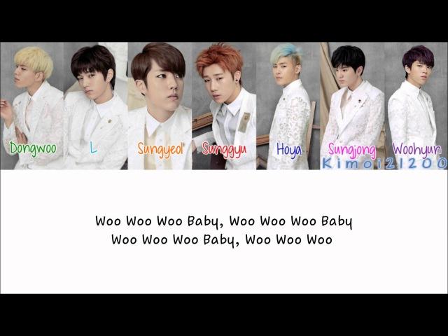 Infinite - Rosinante (로시난테) [Hangul/Romanization/English] Color Picture Coded HD