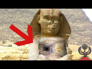 Просканирован Египетский Сфинкс - радиометры зашкалило! Странный тоннель. Пирам...