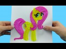 Fluttershy My Little Pony with 3d Pen! Amazing video for Kids DIY