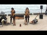 Перуанцы на набережной в Ялте (Alborada del Inka)