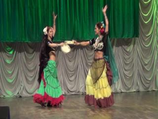 Тамбурин трайбл импровиз. Концерт индийского танца Падма Мела