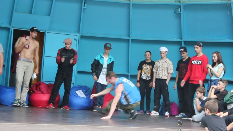 Bboy Andy-S.(Renegade Masters/Brooklyn Motion) / Dmitrov town Challenge II / Judging