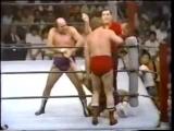Giant Baba_The Destroyer vs Killer Karl Kox_Dick Slater 74Aug,Tokyo.