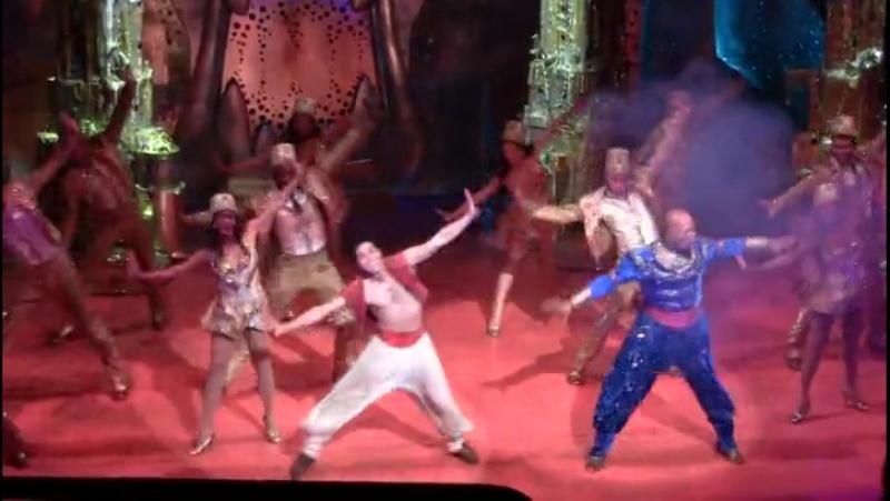 Aladdin. Broadway, 04.11.2014 4/9