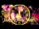 HAPPY New Year CLOCK 2017 - Countdown Timer with Sound ( abba remix ) Effects + Voice 4k