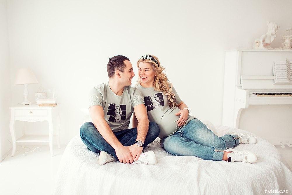 Идеи для фотосессия беременной с мужем