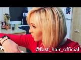 Ольга Бузова использует расческу - выпрямитель Fast Hair