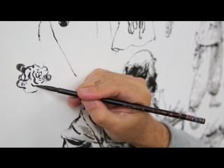 Ким Джун Ги, или кореец, который рисует, как бог