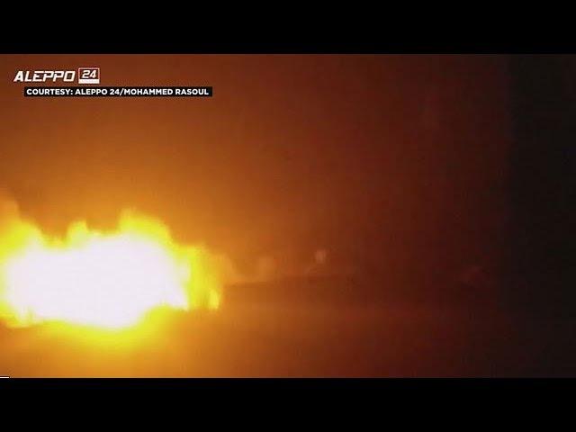 Під Алеппо розбомбили гумконвой ООН: авіаудару завдали росіяни або сирійська армія