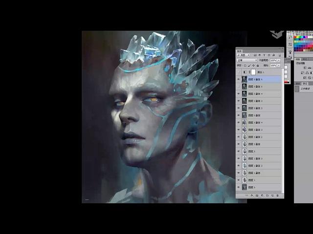 China Digital Painting - Avatar Draw 1 - Artist ZART