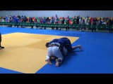 Женя Зубрицкий. BJJ Open Baltic 7 мая 2016. Каунас. Абсолютка. Второй круг