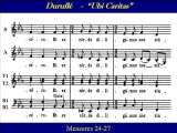 Alto Ubi Caritas Durufle Score
