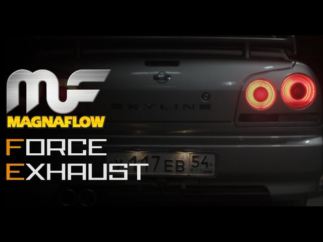 Nissan Skyline rb20de by Force Exhaust