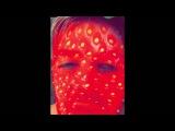 Adam Lambert on snapchat 7/7/16 (3 snaps flipped)