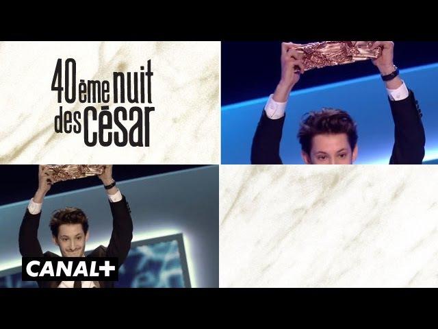 Pierre Niney - César du Meilleur Acteur 2015
